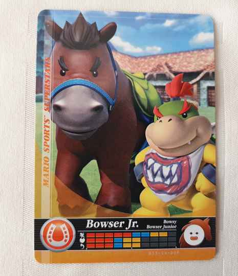 Paarden Race: Bowser Jr