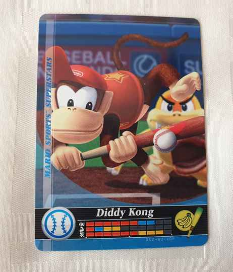 Honkbal: Diddy Kong