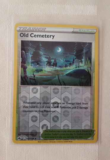 Trainer Old Cemetery Holo