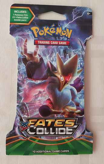 Sleeved Pokemon XY10 Booster Fates Collide #2