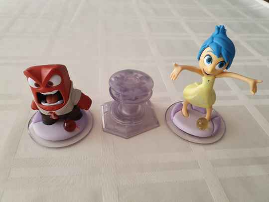 Inside out playset