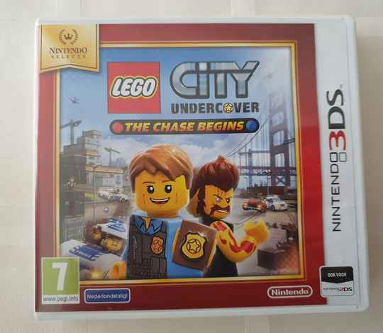 Lego City Undercover The Chase Begins Selects