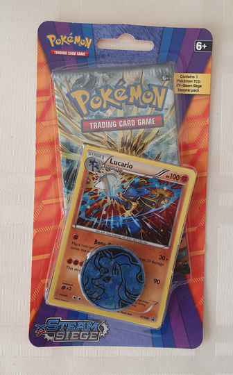 Lucario Coin pack met 1 booster pack #2
