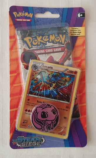 Lucario Coin pack met 1 booster pack #1
