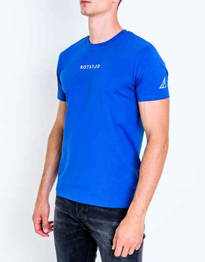 ROTSTAD T-SHIRT NAVY BLUE