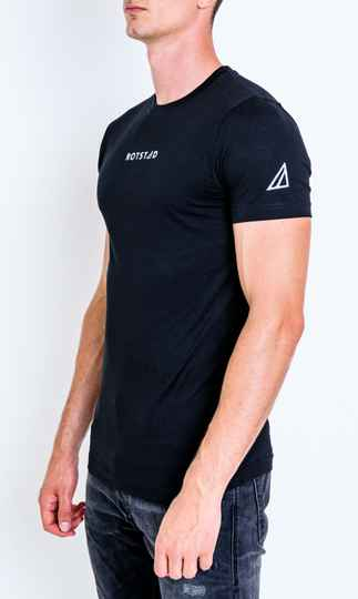 ROTSTAD T-SHIRT BASIC BLACK#2