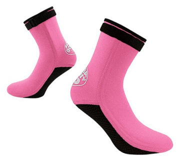 Hoge sandsocks model roze