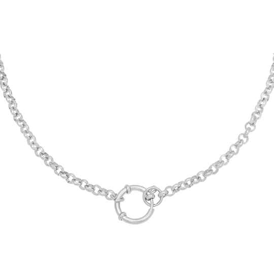 Chunky Necklace Silver