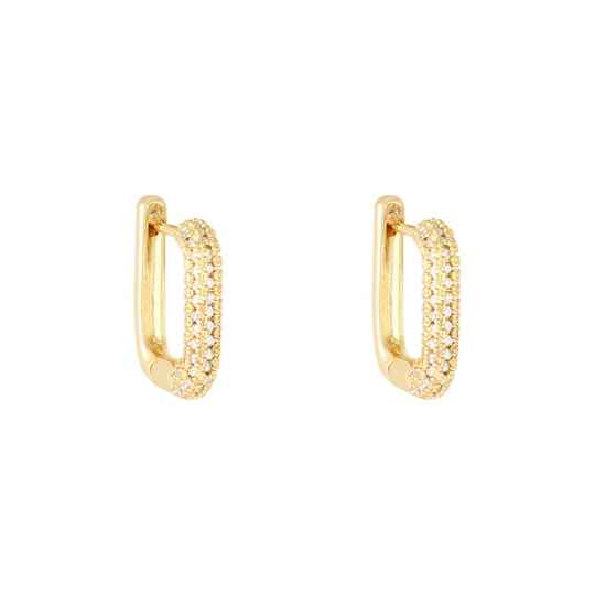 Square Glam Gold