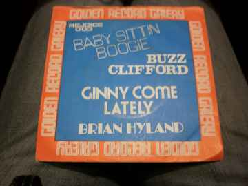 Single Buzz Clifford - Baby Sittin Boogie / Brian Hyland - Ginny come lately