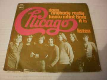 Single Chicago - Does anybody really know what time it is