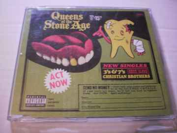 CD Single Queens of the Stone Age - 3's & 7's & Christian Brothers