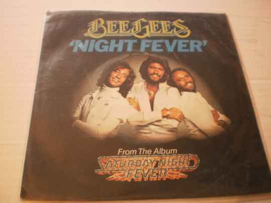 Single The Bee Gees - Night Fever