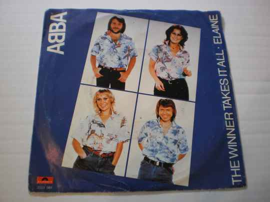 Single ABBA - The Winner takes it all