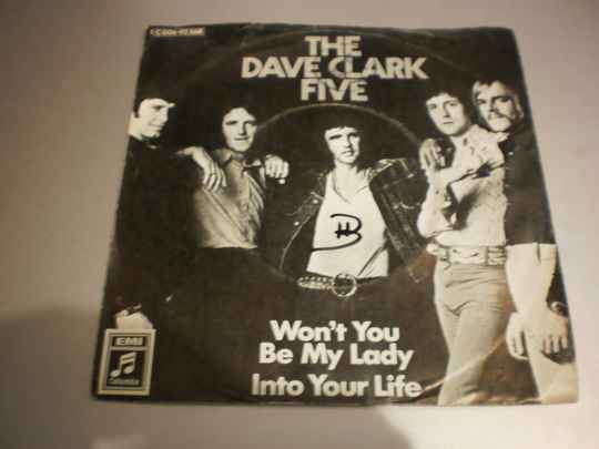 Single The Dave Clark Five - Won't you be my lady