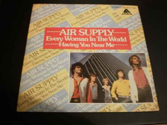 Single Air Supply - Every woman in the world