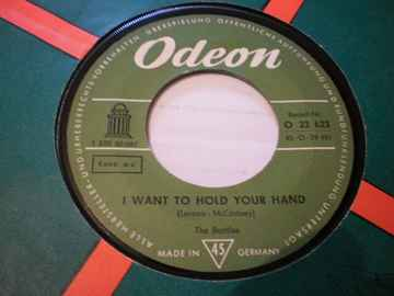 Single The Beatles I want to hold your hand / Roll over Beethoven