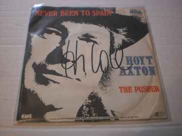 Single Hoyt Axton - Never been to spain