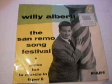 Single Willy Alberti - The San Remo Song festival EP