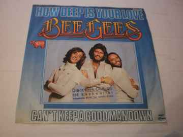 Single The Bee Gees - How deep is your love