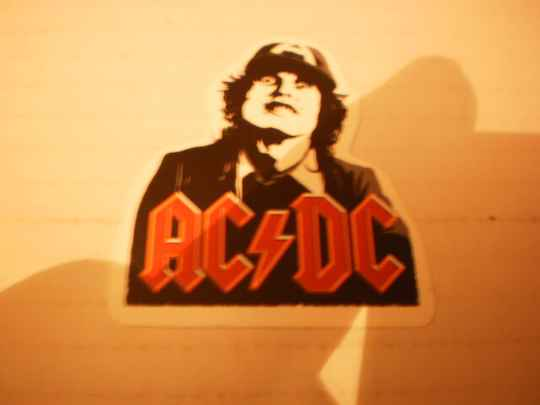 Sticker AC/DC Angus Young