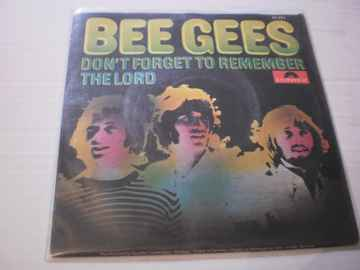 Single The Bee Gees - Don't forget to remember