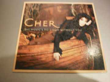 Cd Single Cher - The music's no good without you
