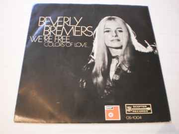 Single Beverly Bremers - We're Free / Colors of love