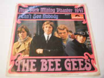 Single The Bee Gees - New York mining disaster 1941