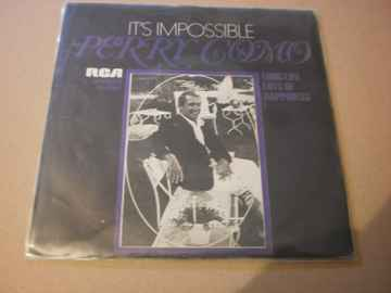 Single Perry Como - It's impossible
