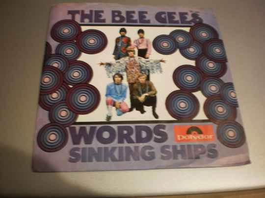 Single The Bee Gees - Words