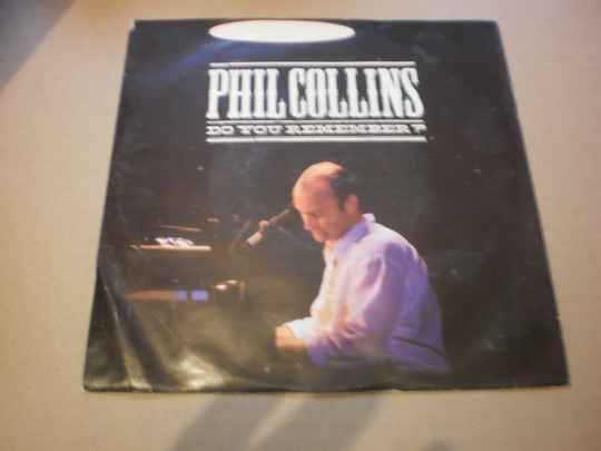 Single Phil Collins - Do you remember
