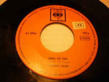Single Johnny Cash - Ring of Fire