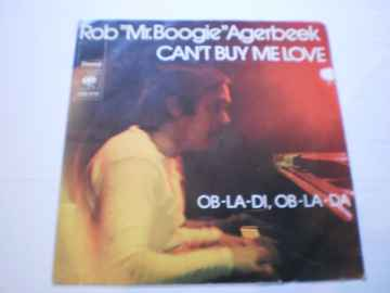 Single Rob Mr. Boogie Agerbeek - Can't buy me love