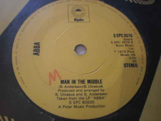 Single ABBA - SOS / Man in the middle