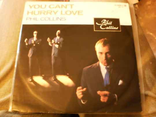 Single Phil Collins - You can't hurry love
