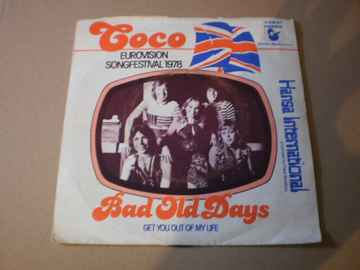 Single Coco - Bad old days  Songfestival