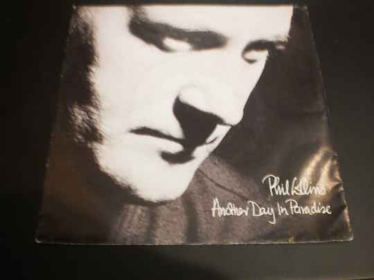 single Phil Collins - Another day in Paradise
