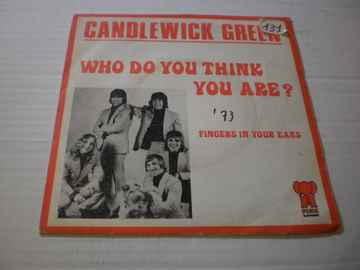 Single Candlewick Green - Who do you think you are