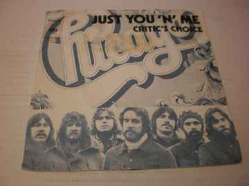 Single Chicago - Just you 'n' me