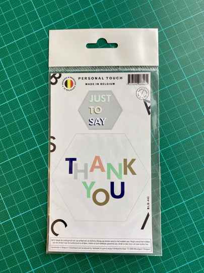 Sticker: Just to say Thank you