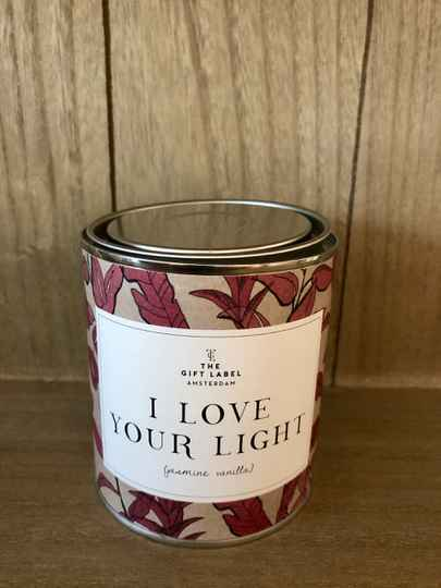 I Love Your Light - Grote Kaars