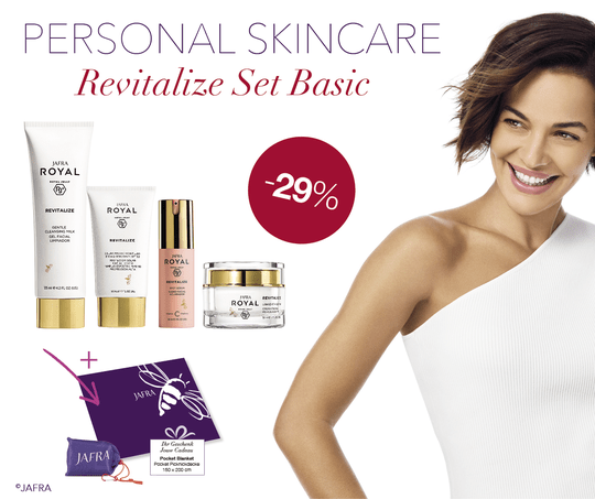 Royal Revitalize Basic Set 4 producten + cadeautje