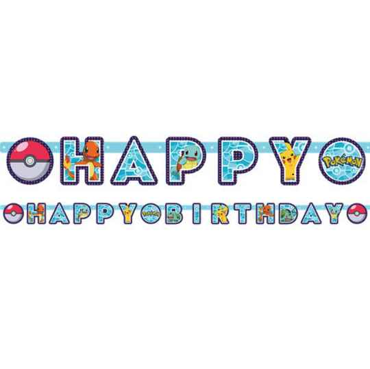 Pokémon Happy Birthday slinger