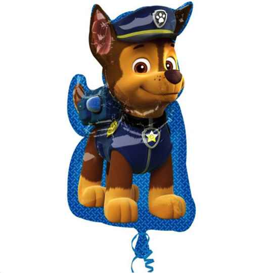 Chase Supershape ballon - Paw Patrol