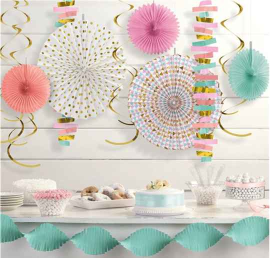 Pastel decoratieset