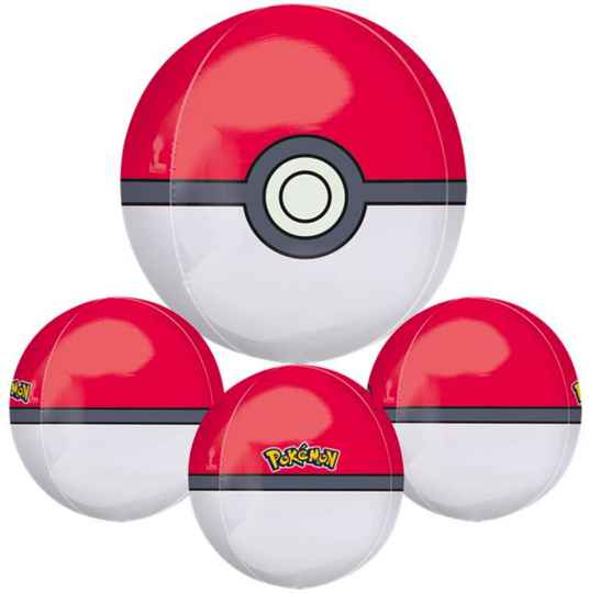 Pokéball ballon - Pokémon