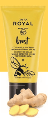 Jafra Royal Boost Cover Me Sunscreen Broad Spectrum SPF 30 50ml