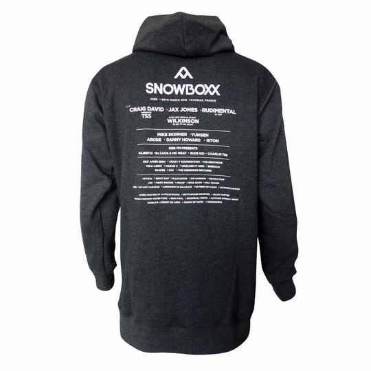Snowboxx 2019 Line up Hoody