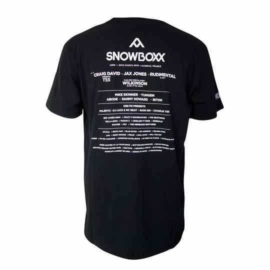 Snowboxx 2019 Line up T-Shirt